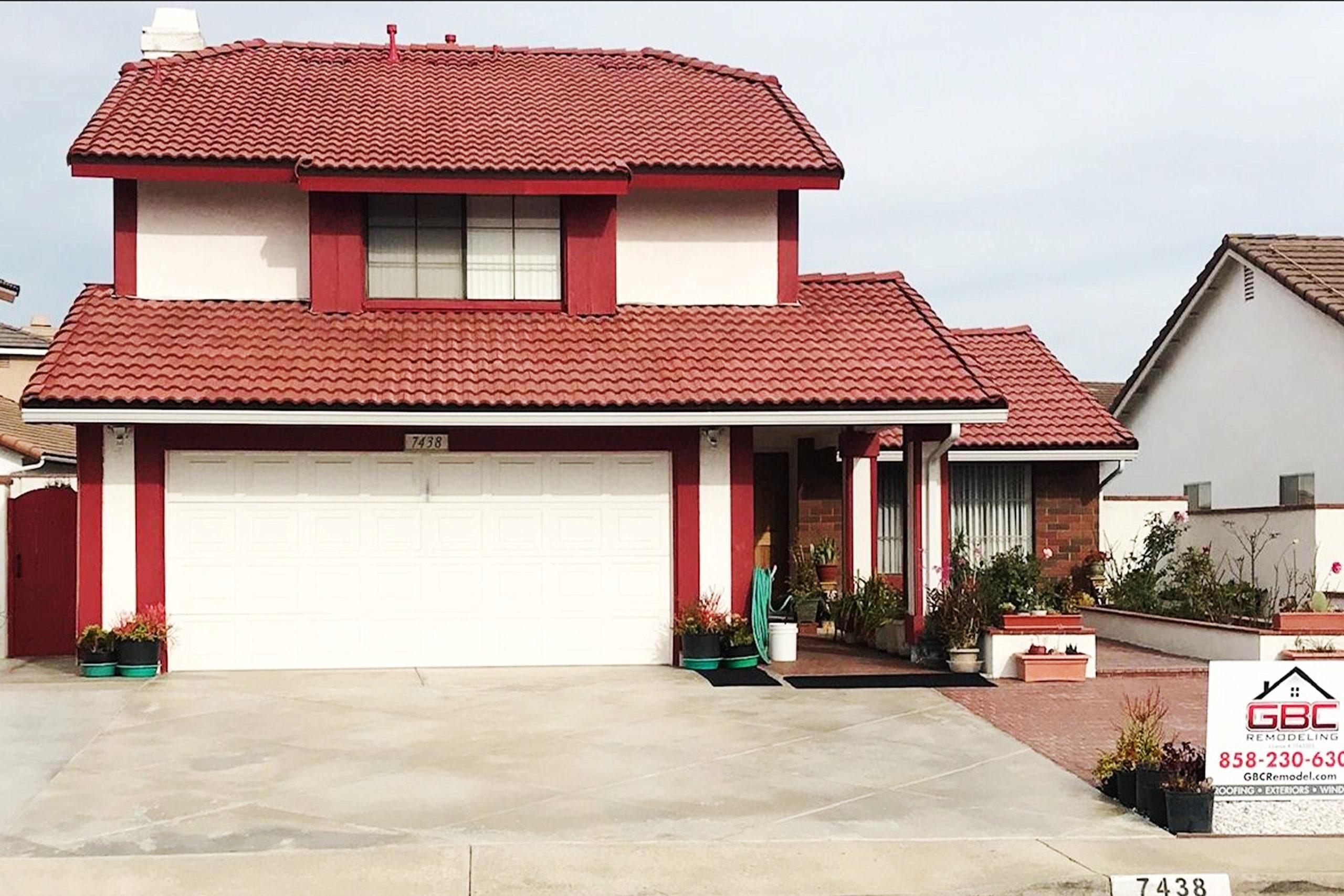 Finished Tile Roof