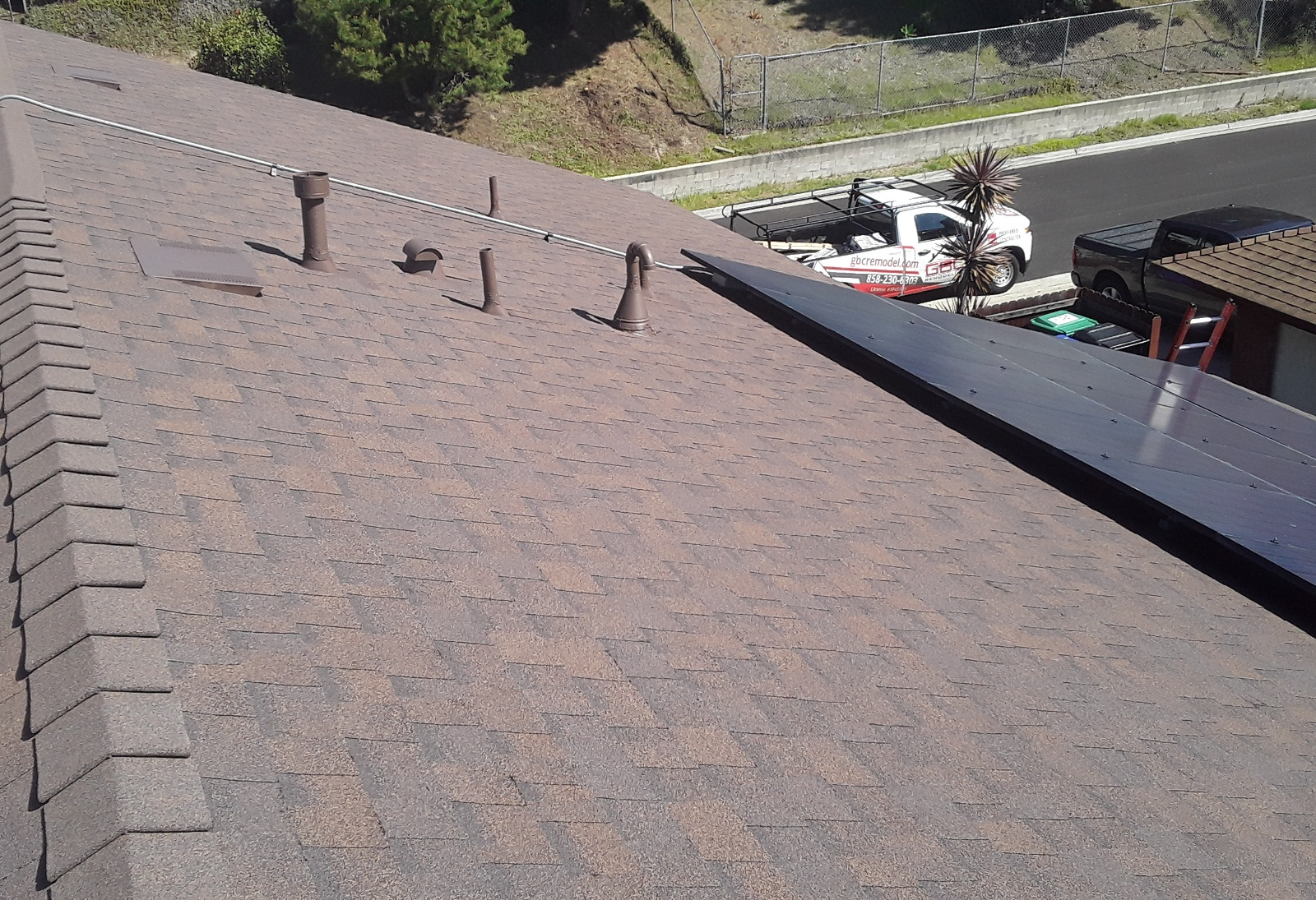 new roofing and solar