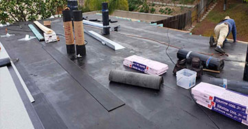 flat + roofing