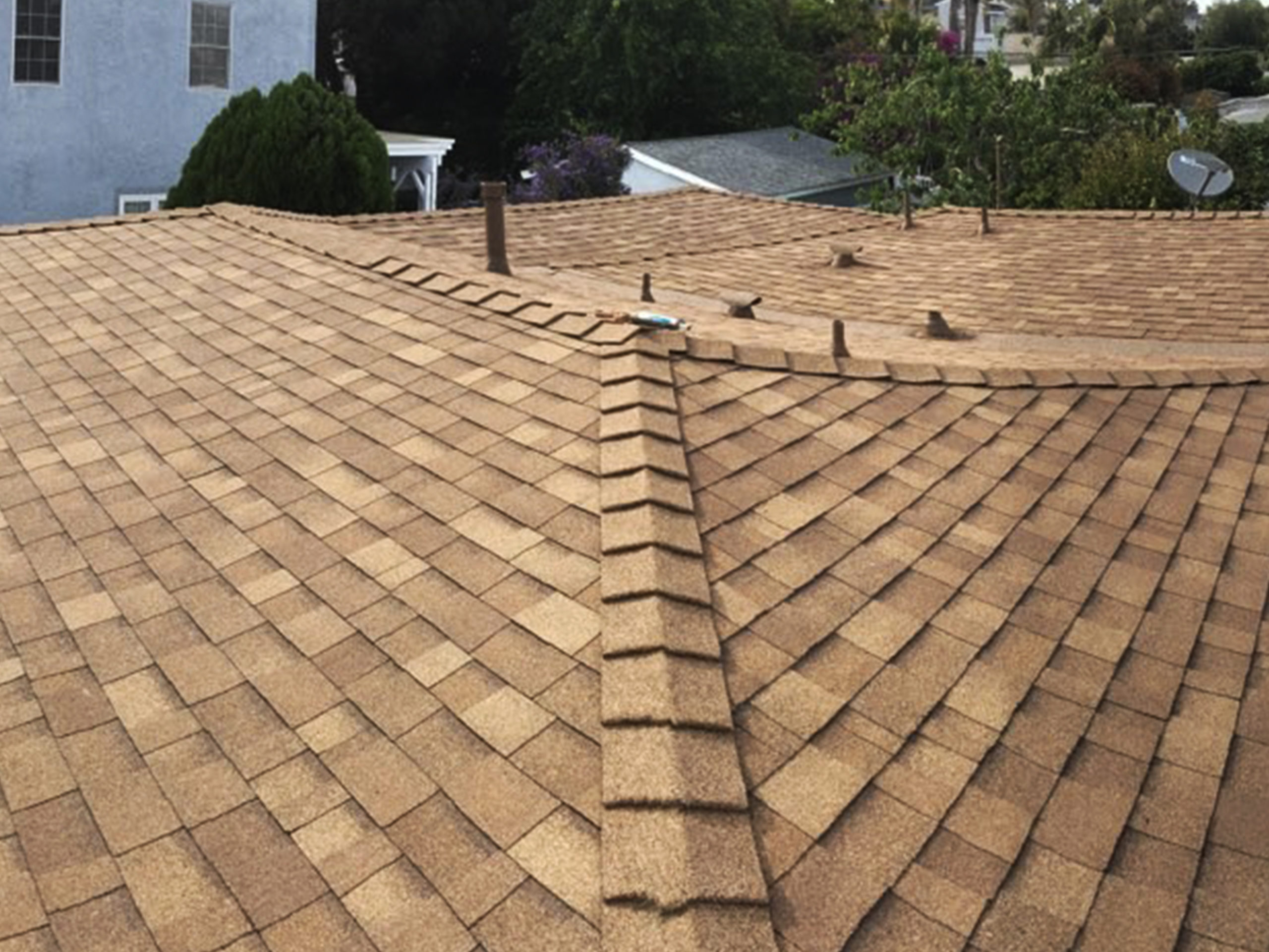 roof completion