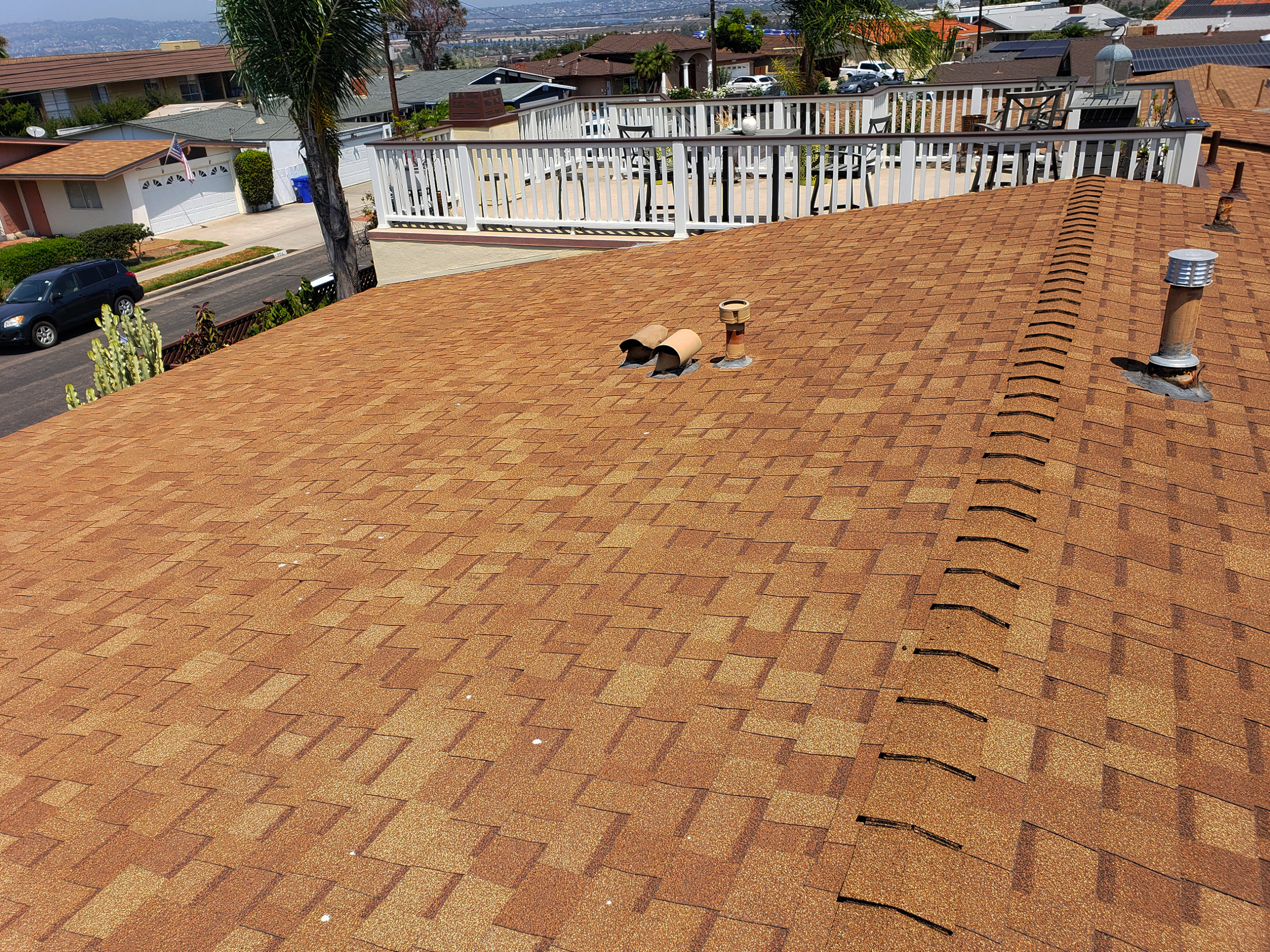 shingle tan roof
