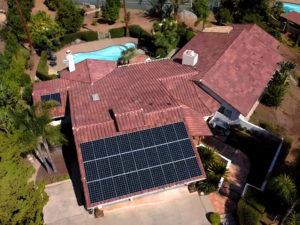 Solar TIle Roof Install