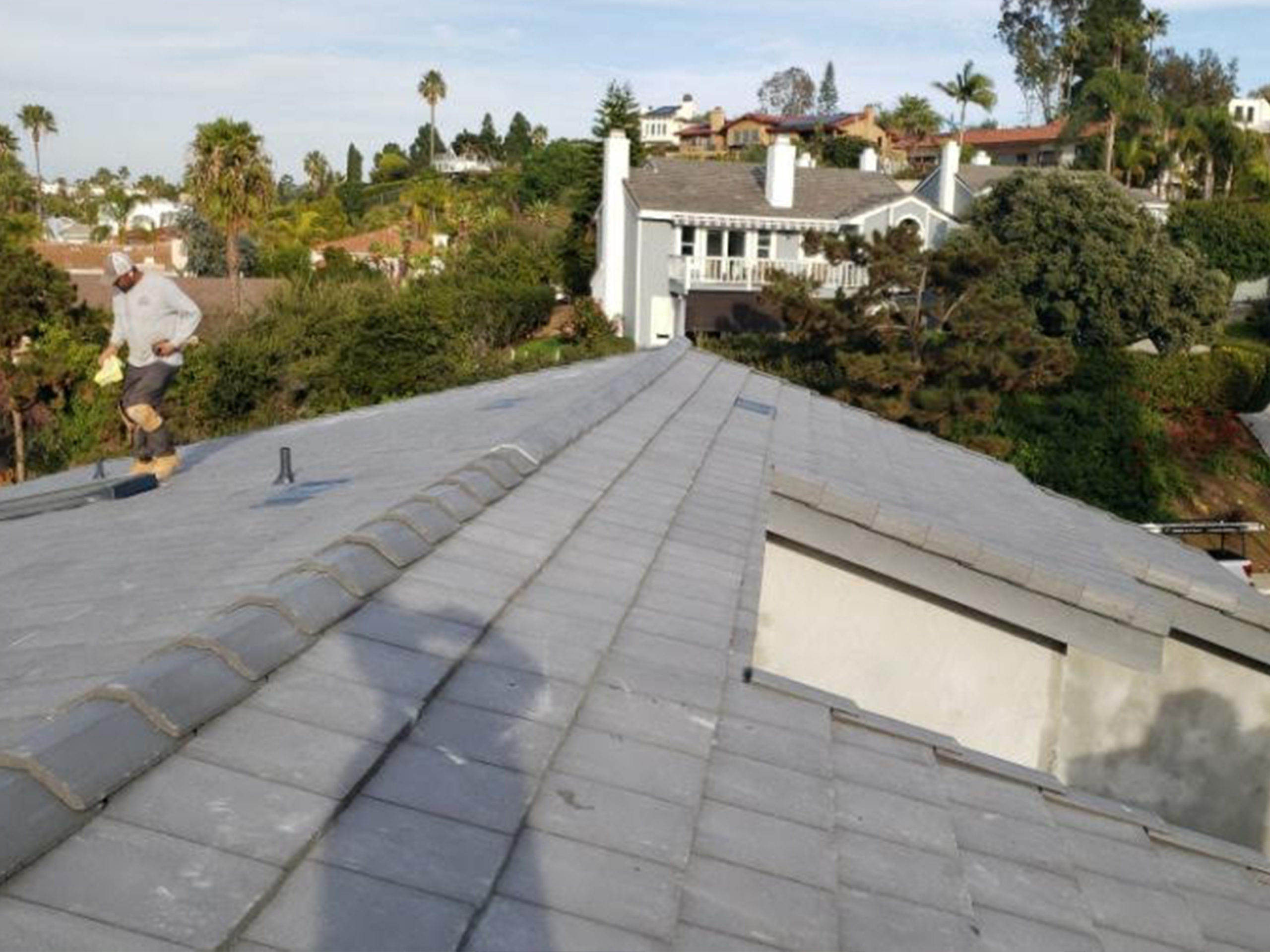 tile roof-replaced